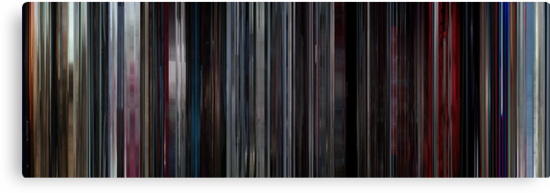 Moviebarcode: 2001: A Space Odyssey (1968) by moviebarcode