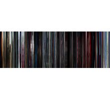 Moviebarcode: 2001: A Space Odyssey (1968) Photographic Print