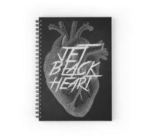 I've got a Jet Black Heart Spiral Notebook