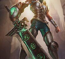 Redeemed Riven - League of Legends by sinaki
