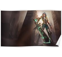 Redeemed Riven - League of Legends Poster