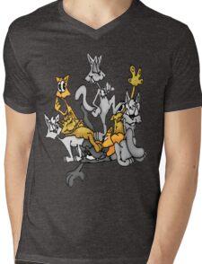 King of the stack Mens V-Neck T-Shirt