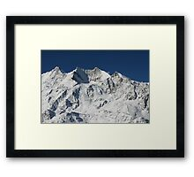 Suisse Postcards - 6 Framed Print