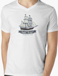 The Jolly Roger Mens V-Neck T-Shirt