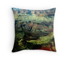 The Gand Canyon. Throw Pillow