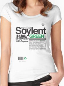 Contents: Unprocessed Soylent Green Women's Fitted Scoop T-Shirt