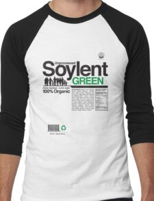 Contents: Unprocessed Soylent Green Men's Baseball ¾ T-Shirt