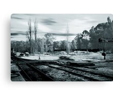 Rusty Tracks Canvas Print