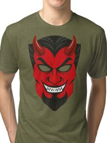 Devil Halloween Tri-blend T-Shirt