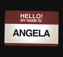 NAMETAG TEES - ANGELA by webart