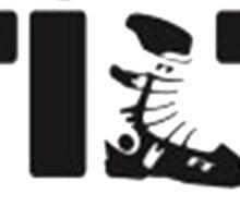 full tilt logo  Sticker