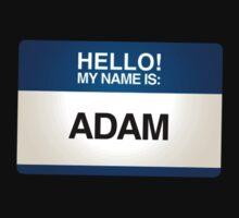 NAMETAG TEES - ADAM by webart