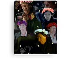 Sherlock in season three Canvas Print