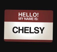 NAMETAG TEES - CHELSY by webart