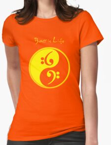 Bass is Life Womens Fitted T-Shirt