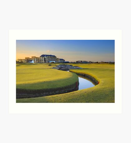 Old Course St Andrews Art Print