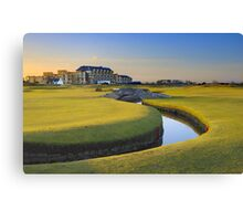 Old Course St Andrews Canvas Print