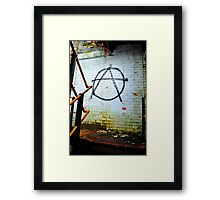 Anarchy Framed Print