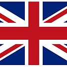 Union Jack, Flag of the United Kingdom, Britain, British flag, Pure and Simple by TOM HILL - Designer