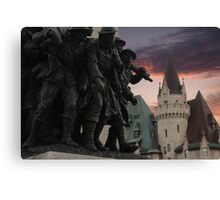 Memorial & Chateau Canvas Print