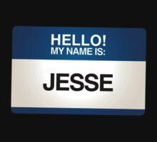 NAMETAG TEES - JESSE by webart
