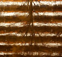 Puddle reflection - Bijlmer abstract 3 by steppeland