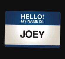 NAMETAG TEES - JOEY by webart