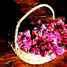 Sweetpea basket by Antionette