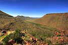 Karoo National Park from above. by Rudi Venter