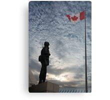 Canadian Soldier - Fallen Soldier Memorial, Ottawa ON Metal Print