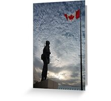 Canadian Soldier - Fallen Soldier Memorial, Ottawa ON Greeting Card