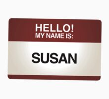 NAMETAG TEES - SUSAN by webart
