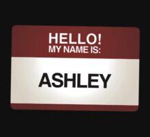 NAMETAG TEES - ASHLEY by webart