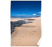 Landscape, Scotland, Outer Hebrides, South Harris, Traigh Mhor beach Poster