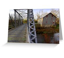 The Potter Wade Mill Greeting Card