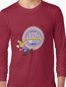 usa california  tshirt by rogers bros Long Sleeve T-Shirt