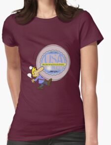 usa california tshirt by rogers bros Womens Fitted T-Shirt