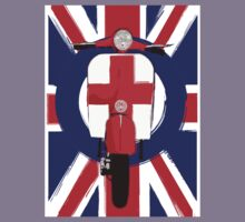 Vintage scooter with St George Cross Kids Tee