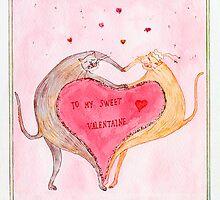 valentine card by Nataliya Stoyanova