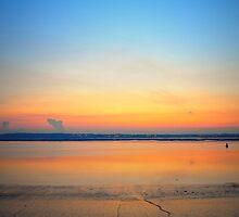 Sunset sky- portrait by Ben Jones