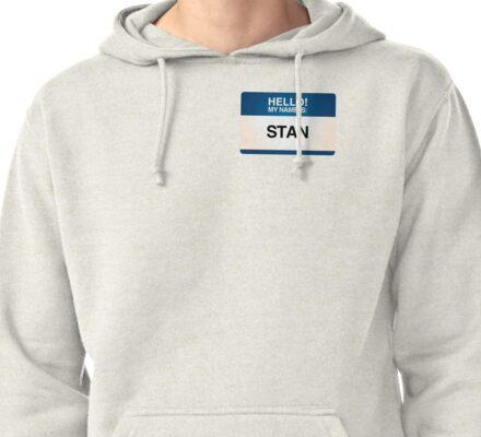NAMETAG TEES - STAN Pullover Hoodie
