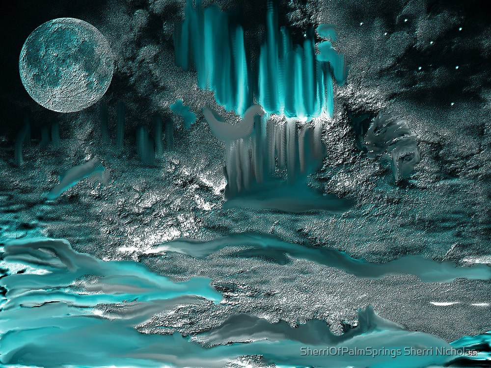 UNDISCOVERED CAVE IN SPACE!!!l by Sherri     Nicholas