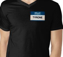 NAMETAG TEES - TYRONE Mens V-Neck T-Shirt