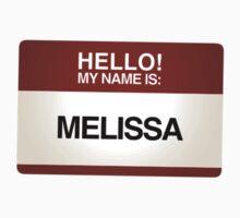 NAMETAG TEES - MELISSA by webart