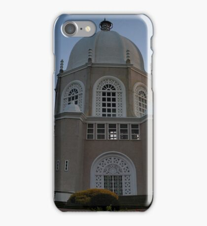 Bahai temple2 iPhone Case/Skin