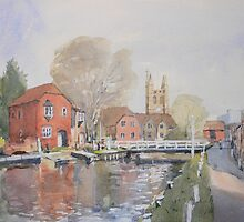 Swing bridge by Peter Lusby Taylor