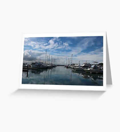 Nelson Bay Harbour Greeting Card