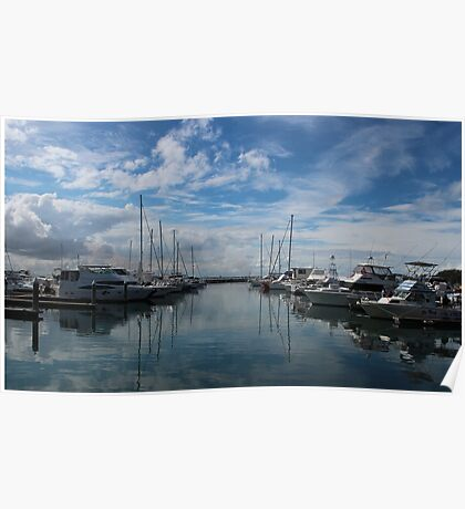Nelson Bay Harbour Poster