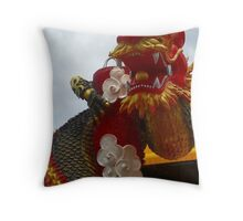 Swagger Dragon Throw Pillow