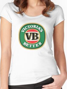 Victoria's Better - Updated Version (better quality) Women's Fitted Scoop T-Shirt